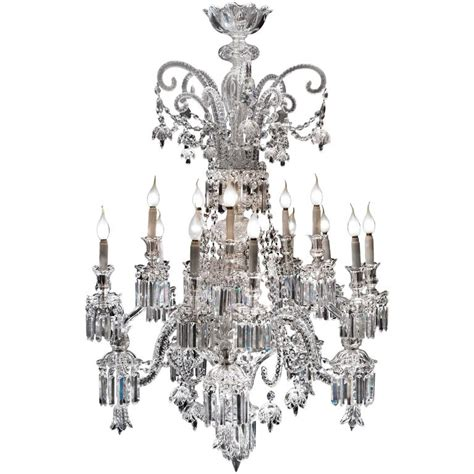 Amazing Chandeliers Amazing Chandelier Of Baccarat 1825s For Sale At 1stdibs