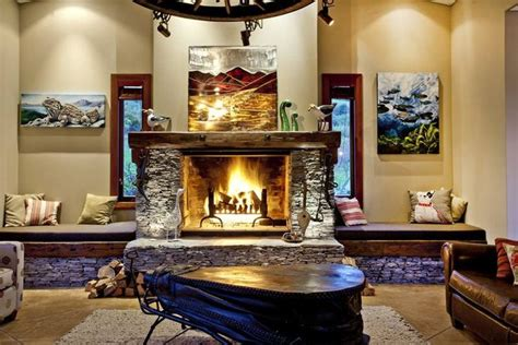 fireplace seating love the bench seats definitely doing this under the