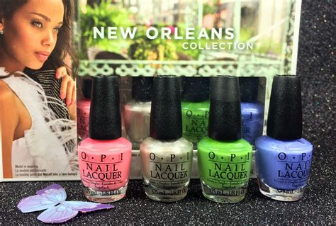 Opi Mini New Orleans Collection opi mini nail lacquer limited edition 2016 new orleans
