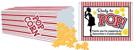 popcorn wrapper template free popcorn invitations template just b cause