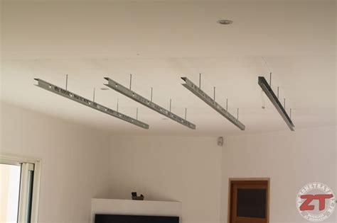 Plafond Avec Spot by Brico Cr 233 Ation D Un Faux Plafond Avec Ruban Led Et Spots