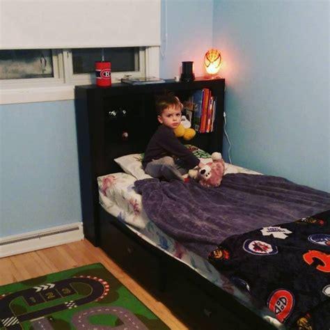 big boy bed transitioning to a big boy bed