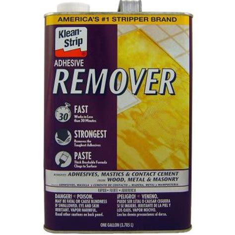 Flooring Adhesive Remover by Klean 128 Oz Adhesive Remover Gkas94325 The Home
