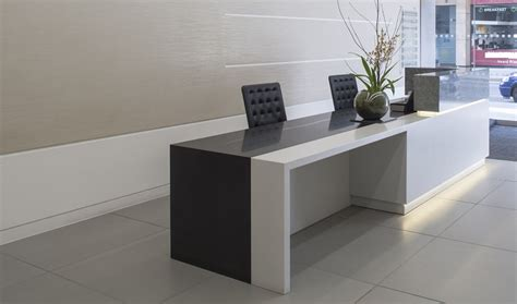 executive reception desk bespoke reception desk design fusion executive furniture