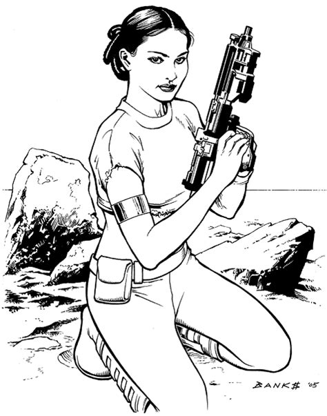 coloring pages amidala free coloring pages of wars padme