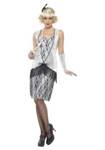flapper costume halloween city women s 1920s silver flapper costume