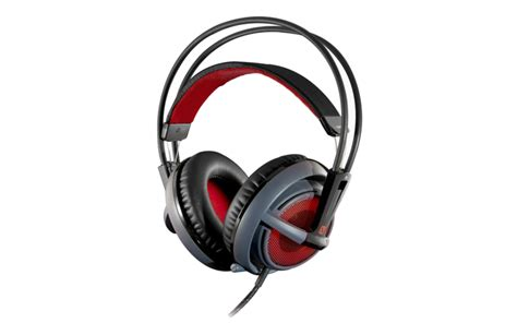 Headset Steelseries Siberia V2 steelseries intros siberia v2 illuminated gaming headset dota 2 special edition