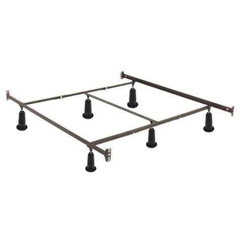 High Rise Metal Bed Frame Instamatic High Rise Metal Bed Frame W Headboard Footboard Brackets Fastfurnishings