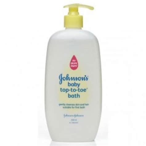 top to toe johnsons baby top to toe bath 500ml shoo lotion
