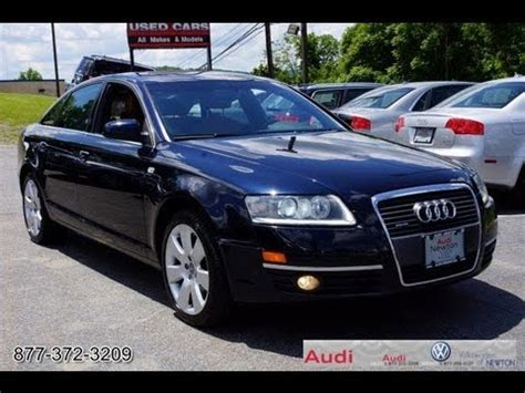 2006 audi a6 4 2 quattro sedan 4d pictures and videos 2006 audi a6 4 2 quattro sedan youtube