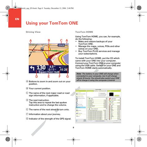 Onexl Gps Tracking System User Manual Tomtom One Xl User S