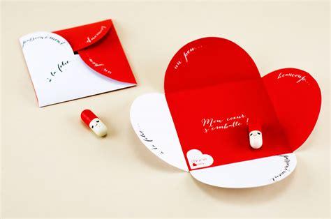 Cartes De Valentin by St Valentin Carte 224 Imprimer Quot Mon Coeur S Emballe Quot