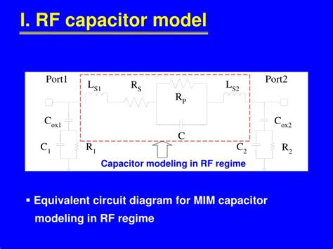 capacitor in rf circuit ppt high performance ald hfo 2 al 2 o 3 laminate mim powerpoint presentation id 5462954