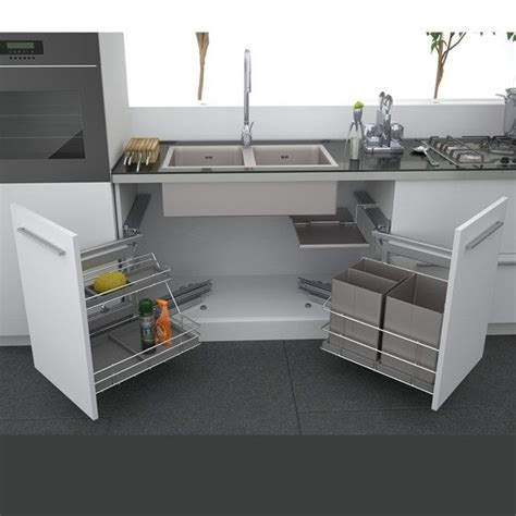 kitchen under cabinet storage 17 best ideas about under kitchen sinks on pinterest under kitchen sink storage under sink
