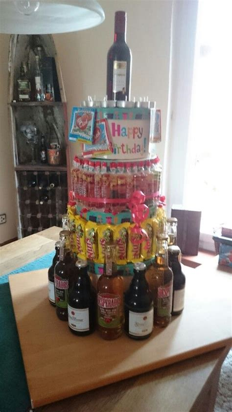 Alkohol Geschenke Basteln by M 228 Nnertorte Geschenkideen Geburtstag