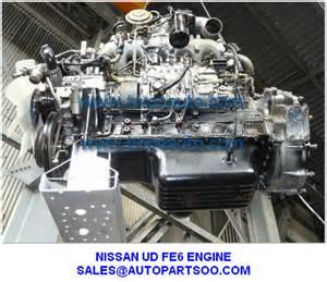 Used Nissan Engines Nissan Ud Engine Fe6 Engine Used Nissan Fe6 Engine For