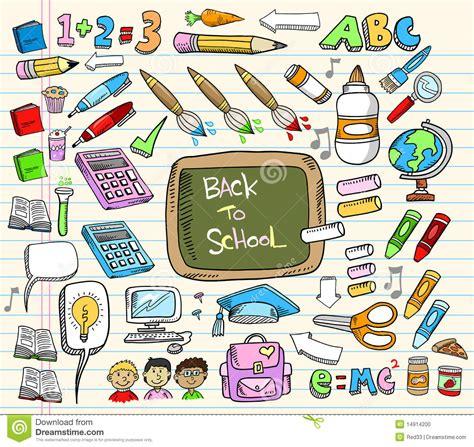 doodle jogos do de volta ao jogo do doodle da escola foto de stock