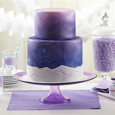 how to store a fondant cake snow swirls fondant cake wilton