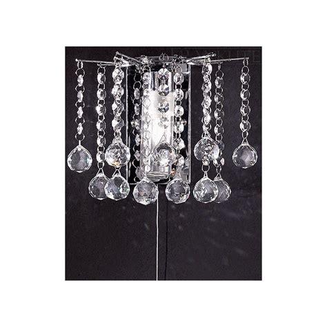 crystal bathroom wall lights franklite fl2139 1 crystal bathroom wall light at