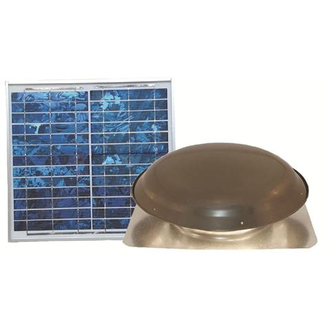 1000 cfm attic fan ventamatic cool attic 1000 cfm grey solar powered roof