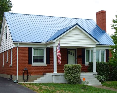 run with metal roofing metal roofing colors on brick homes
