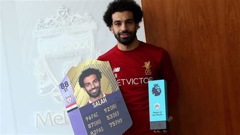epl november player of the month liverpool s mohamed salah wins november premier league