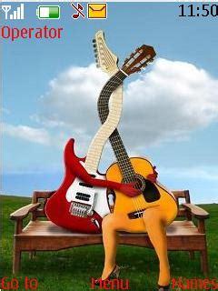 nokia themes guitar download guitar love nokia theme mobile toones