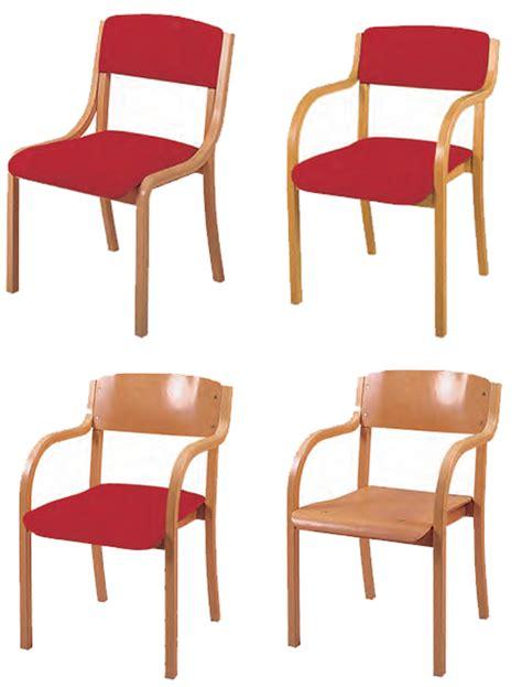 stapelstuhl mit armlehne holzstuhl jan sitz und r 252 cken gepolstert mit armlehne
