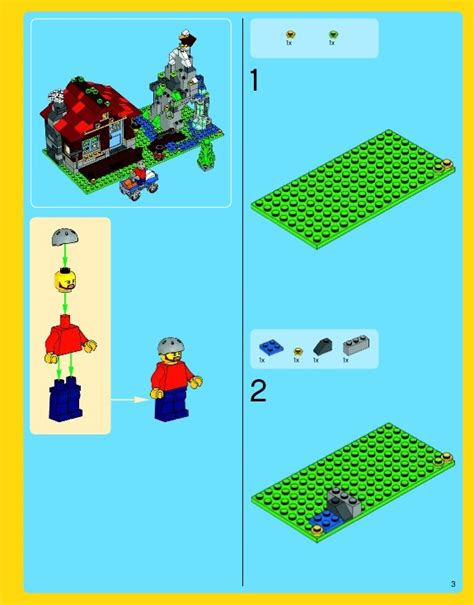 Lego Creator Mountain Hut 31025 lego mountain hut 31025 creator