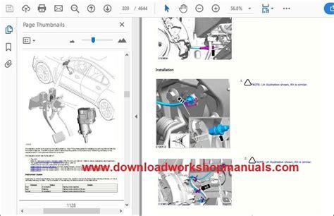 jaguar xf  td workshop manual