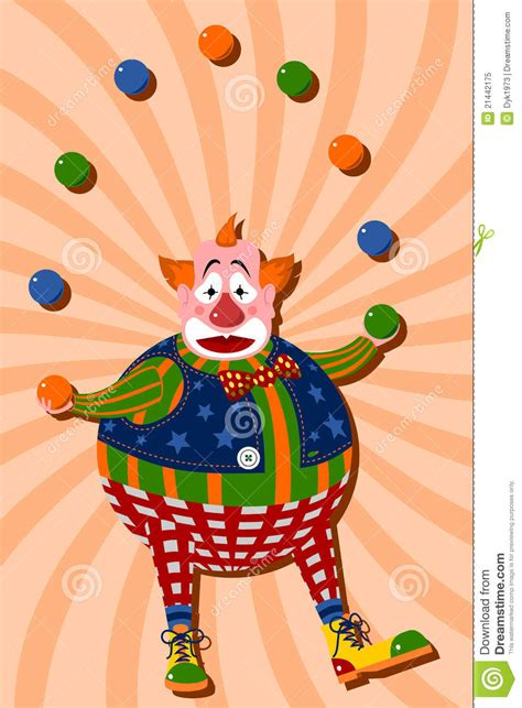 colored clown clown royalty free stock photo image 21442175