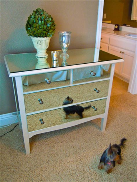 What Did The Mirror Say To The Dresser by Remodelaholic You Look Mirrored Dresser Guest