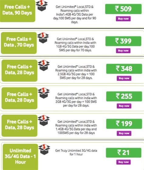 vodafone mobile plans prepaid vodafone unlimited calling plan for prepaid rs