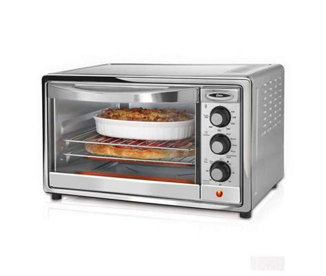 Oster Brushed Stainless Convection Countertop Oven by Oster 6 Slice Brushed Stainless Steel Convection Toaster
