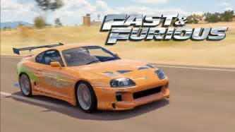 Why Are Toyota Supras So Fast Forza Horizon 3 The Fast And The Furious Toyota Supra