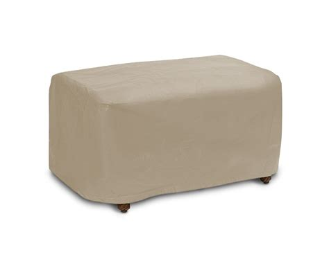 ottoman cover patio ottoman covers outdoor ottoman cover options
