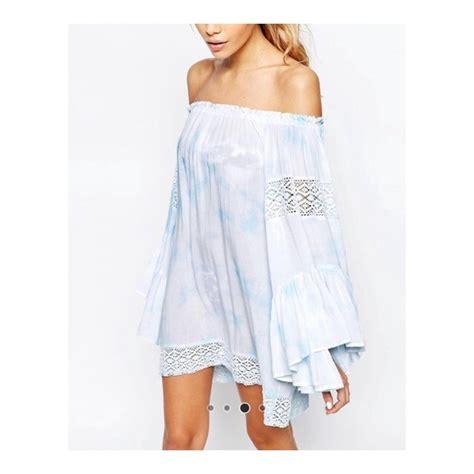Asos Crochet Strapless Dress 42 asos dresses skirts surf tie dye crochet