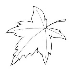Half maple leaf cut out template canada day coloring pages pictures to
