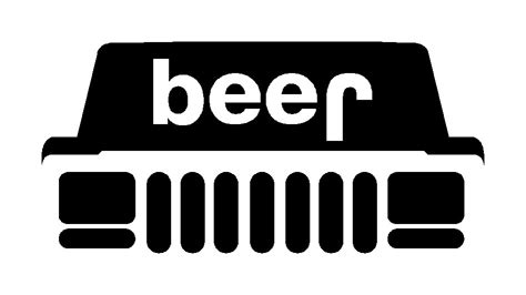 jeep beer decal custom vinyl decals for sale page 64 jeep cherokee forum