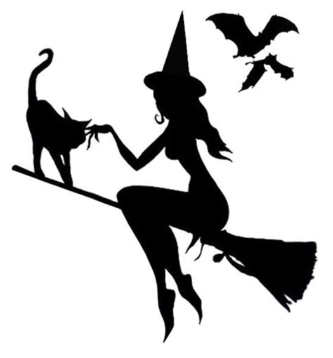 printable witch stencils best photos of halloween witch stencils printable