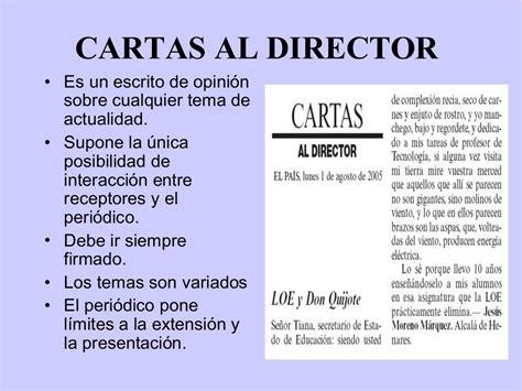 Carta Formal Al Director leer so 241 ar y viajar cartas al director