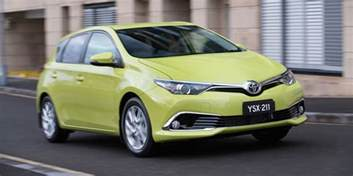 Price Of 2015 Toyota Corolla 2015 Toyota Corolla Hatch Pricing And Specifications