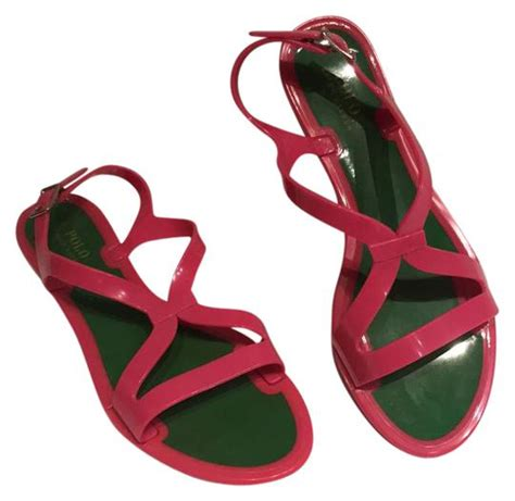 Shoes Jelly Polos polo ralph pink jelly gladiator sandals size us