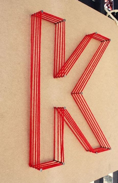 How To String Letters - 25 best ideas about string letters on