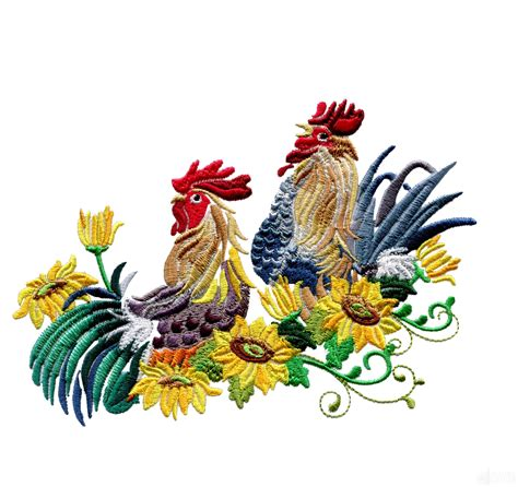 amazing design rise and shine roosters embroidery design collection