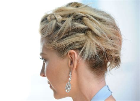 hair cut dizziness jenna elfman hair knots hair lookbook stylebistro