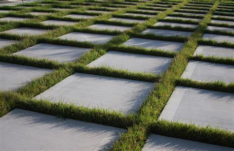Patio Grass by Grass Pavers Patio Garden