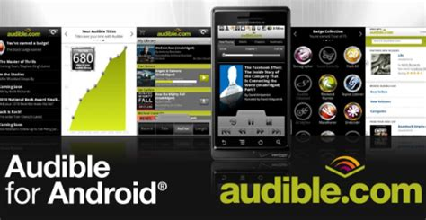 free audible books for android 10 best android apps for book