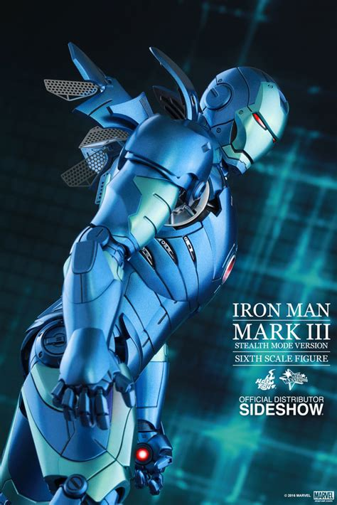 Ironman 3 Stealth Toys Exclusive Iron Iii product announcement toys iron mkiii stealth suit blue