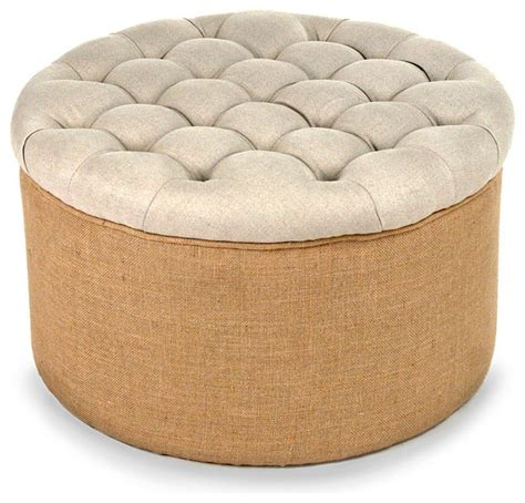 40 round ottoman round ottoman transitional footstools and ottomans